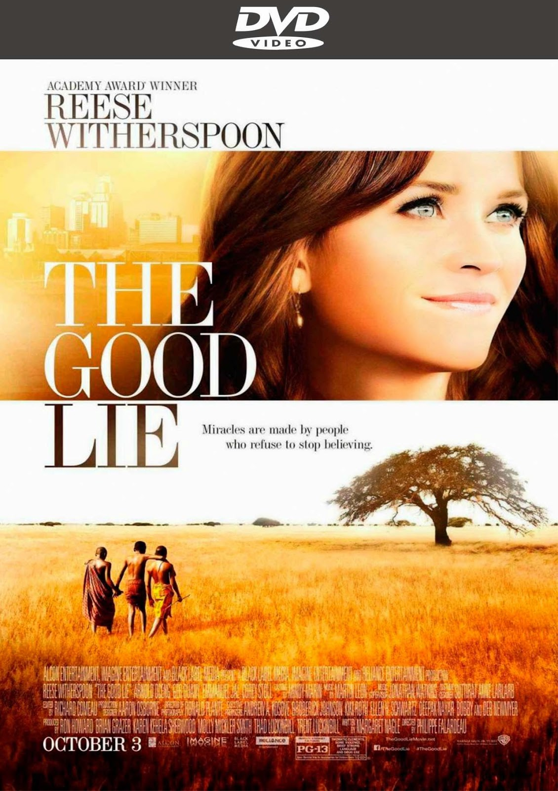 "good lie Yet when ""the good lie"" — a story about the lost boys, the thousands of south sudanese who survived war and famine to come to the us — is."